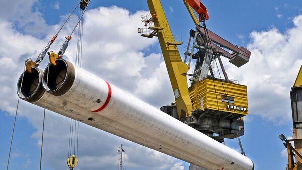 Tuberías para el gasoducto Turk Stream - Sputnik Mundo