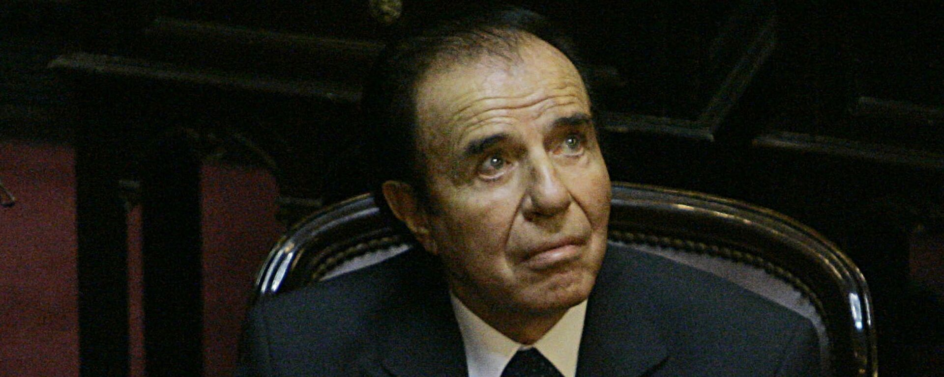 Carlos Menem, expresidente de Argentina - Sputnik Mundo, 1920, 15.02.2021