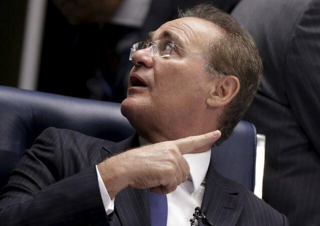 Presidente del Senado de Brasil, Renan Calheiros