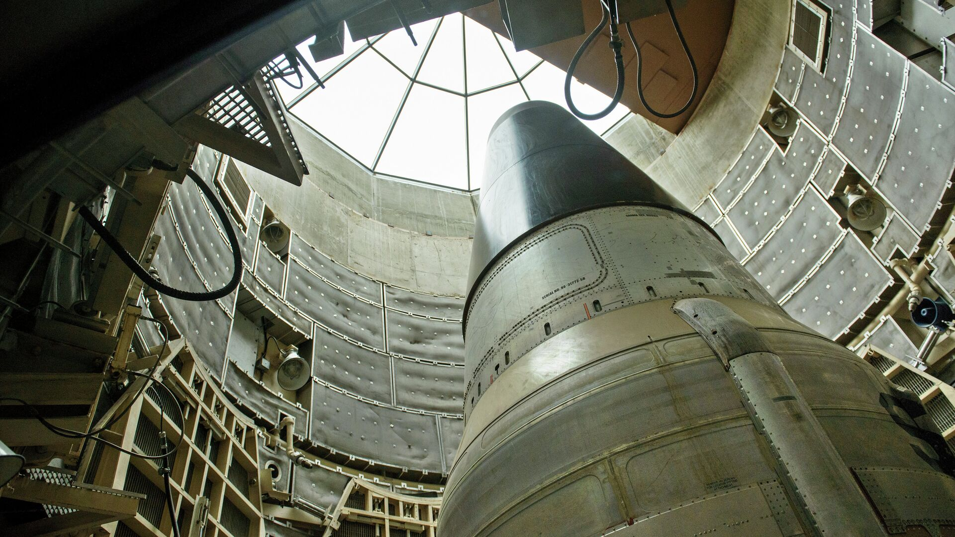 Misil nuclear estadounidense Titan II (archivo) - Sputnik Mundo, 1920, 20.05.2021