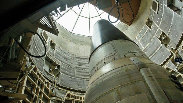 Misil nuclear estadounidense Titan II (archivo) - Sputnik Mundo