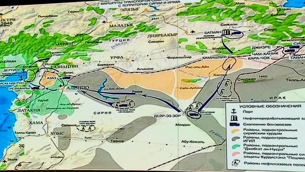 Las rutas por las que el petróleo llega a Turquía (esquema) - Sputnik Mundo