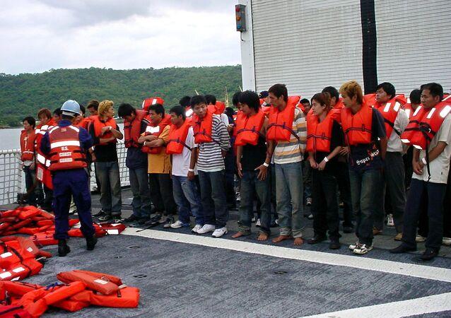 Migrantes chinos y peruanos en Costa Rica