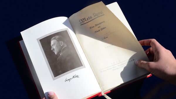 'Mi lucha' de Adolf Hitler - Sputnik Mundo