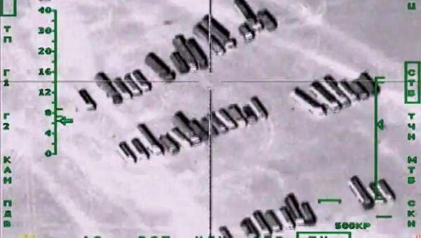 Bombardeos de Rusia contra la planta petrolera del EI en Siria - Sputnik Mundo