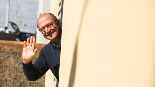 Geraldo Alckmin, gobernador de Sao Paulo - Sputnik Mundo