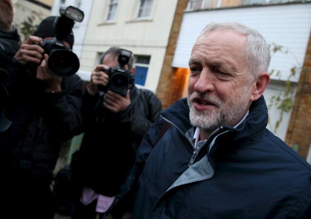 Jeremy Corbyn, líder del Partido Laborista británico