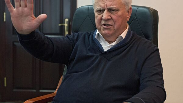Экс-президент Украины Леонид Кравчук - Sputnik Mundo