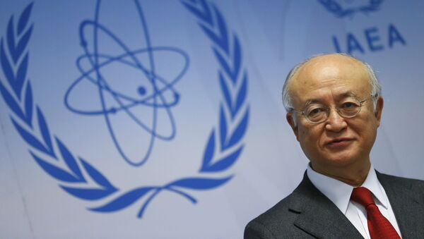 Yukiya Amano, director general de la OIEA - Sputnik Mundo