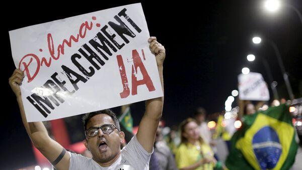El Congreso de Brasil inicia el proceso de impeachment contra Rousseff - Sputnik Mundo
