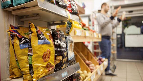 Alimentos procedentes de los asentamientos judíos en Cisjordania - Sputnik Mundo