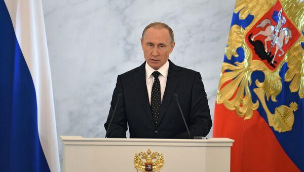 Mensaje anual de Vladimir Putin a la Asamblea Federal - Sputnik Mundo