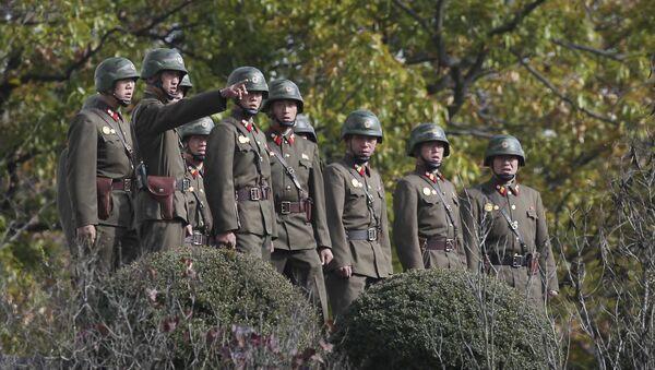 Soldados norcoreanos (archivo) - Sputnik Mundo