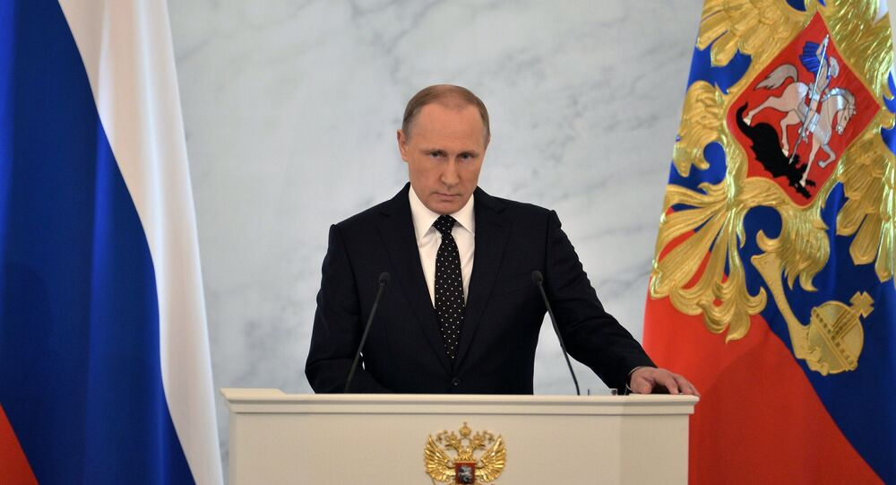 Mensaje anual de Vladimir Putin a la Asamblea Federal