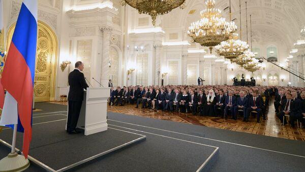 Mensaje anual de Vladímir Putin a la Asamblea Federal - Sputnik Mundo