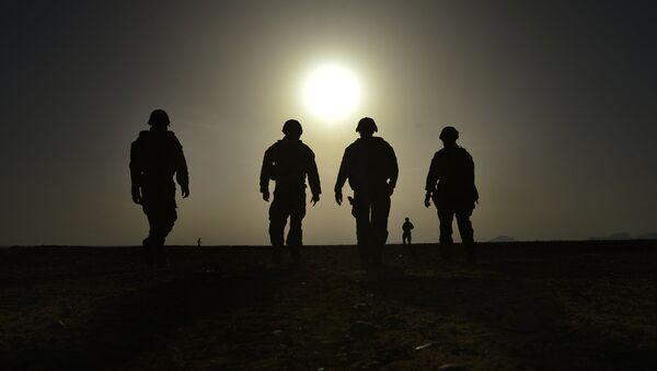 Ejército de EEUU en Afganistán - Sputnik Mundo