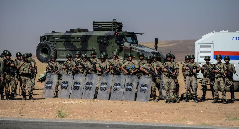 Ejército turco en la frontera entre Turquía y Siria (archivo)
