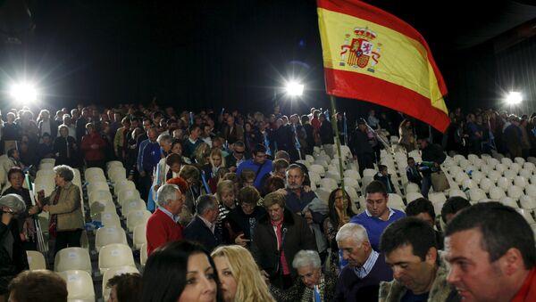 Supporters of Spain's Prime Minister Mariano Rajoy - Sputnik Mundo