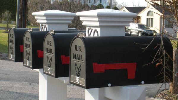 Buzones de correo en EEUU (imagen referencial) - Sputnik Mundo