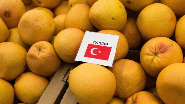 Rusia introduce veto a productos de Turquía - Sputnik Mundo