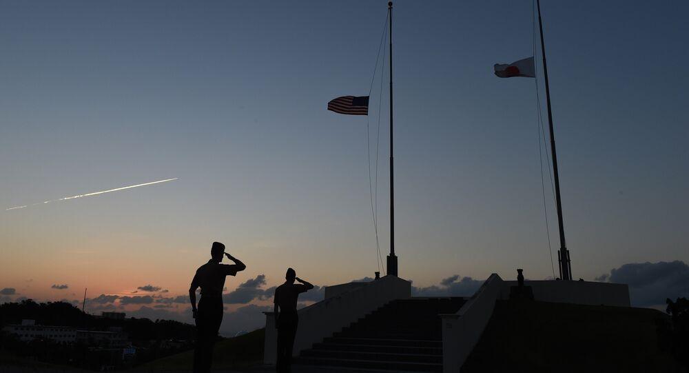 Soldados estadounidenses en Okinawa (archivo)