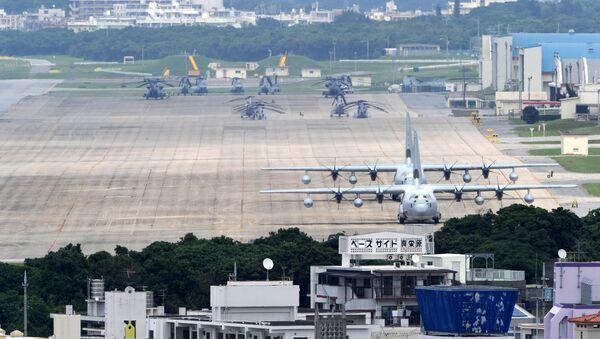 Base de la Fuerza Aérea estadounidense Futenma en Okinawa - Sputnik Mundo