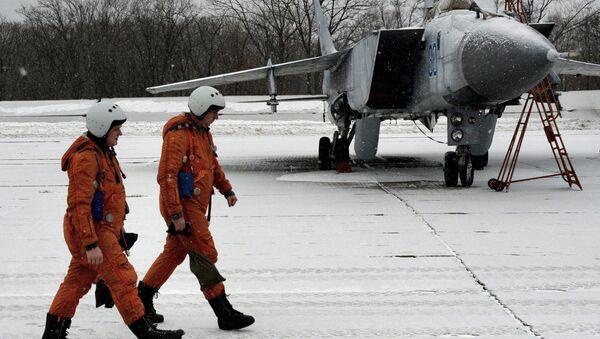 Ejercicios aéreos tácticos en el este de Rusia - Sputnik Mundo