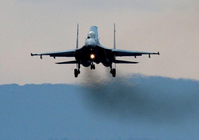 Los cazas Su-27