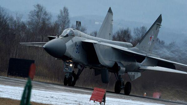 El caza MiG-31BM - Sputnik Mundo