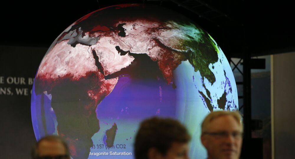 Stand en la Cumbre sobre Cambio Climático