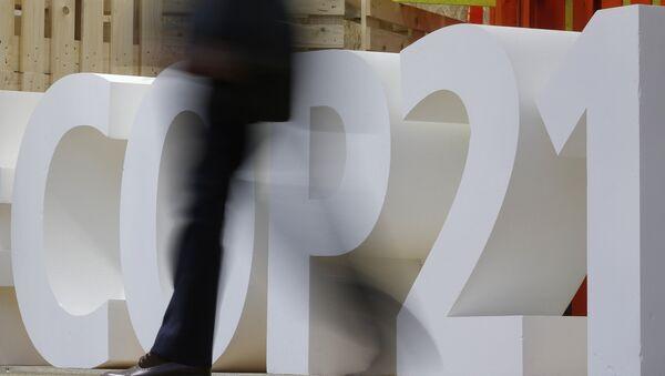 Logo de XXI Conferencia sobre el Cambio Climático (COP21) - Sputnik Mundo