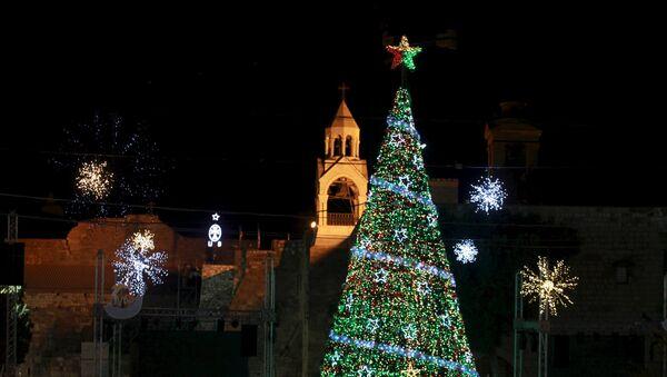 Belén inicia los actos navideños con la esperanza de lograr justicia y paz - Sputnik Mundo