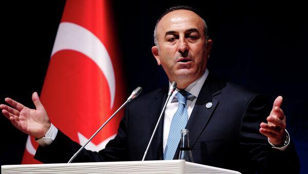 Mevlut Cavusoglu, ministro de Asuntos Exteriores de Turquía - Sputnik Mundo