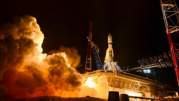 Lanzamiento del cohete Soyuz - Sputnik Mundo