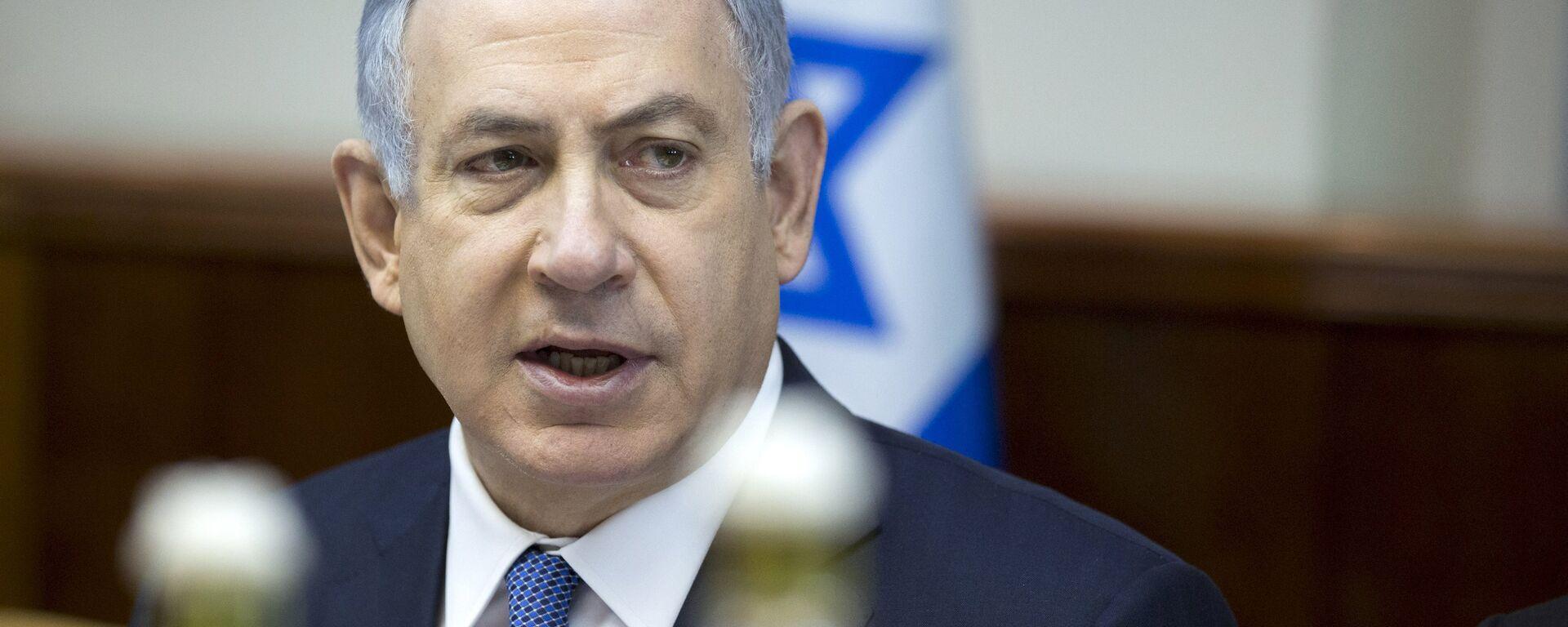 Benjamín Netanyahu, primer ministro de Israel - Sputnik Mundo, 1920, 13.04.2021