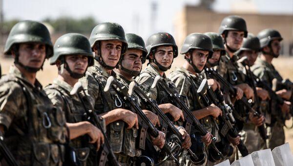 Soldados turcos (Archivo) - Sputnik Mundo
