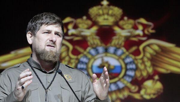 Ramzán Kadirov, líder de la República de Chechenia - Sputnik Mundo