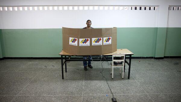 Elecciones parlamentarias en Venezuela (archivo) - Sputnik Mundo