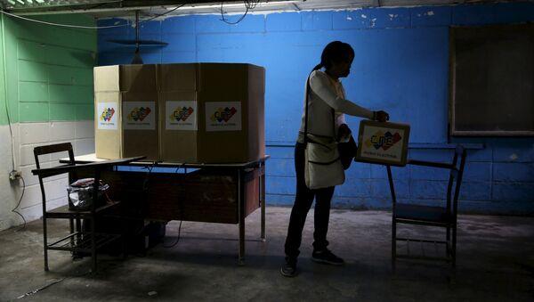 Elecciones parlamentarias en Venezuela - Sputnik Mundo