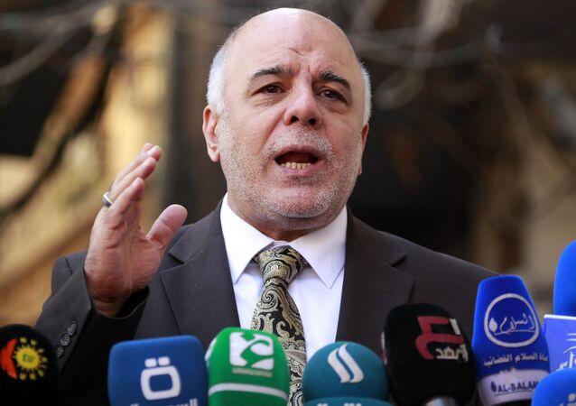 Haider Abadi, primer ministro de Irak (archivo)