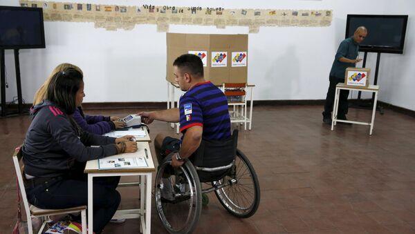 Unasur asegura que elecciones parlamentarias venezolanas se desarrollan con normalidad - Sputnik Mundo