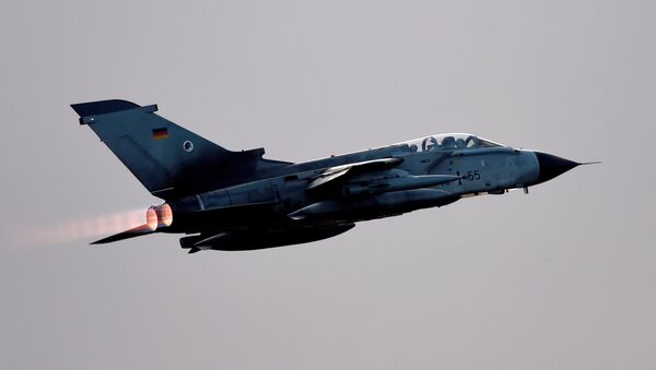 Un avión Tornado de la Fuerza Aérea de Alemania - Sputnik Mundo