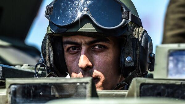 Soldado turco - Sputnik Mundo