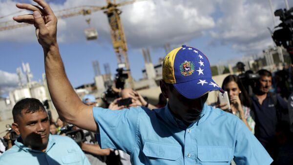 Henrique Capriles - Sputnik Mundo