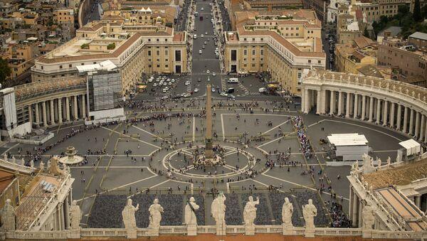 La Plaza de San Pedro, Vaticano (archivo) - Sputnik Mundo