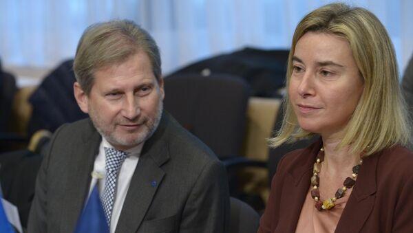 Federica Mogherini, vicepresidenta de la Comisión Europea - Sputnik Mundo