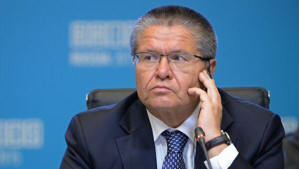 Alexéi Uliukáev, ministro de Desarrollo Económico de Rusia - Sputnik Mundo