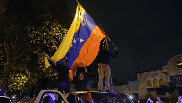 Partidarios de la oposición venezolana - Sputnik Mundo