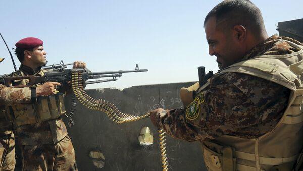 Militares de Irak - Sputnik Mundo