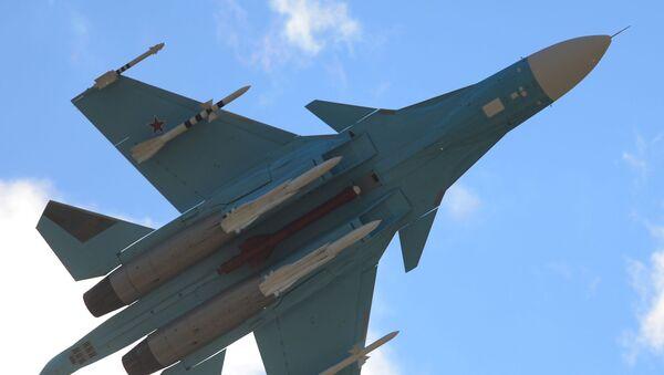 Bombardero táctico Su-34 - Sputnik Mundo